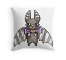 Harvest Bat Throw Pillow