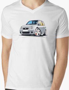 VW Lupo GTi Silver Mens V-Neck T-Shirt