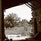 Through the Grain Elevator and into the Past by Rachel Sonnenschein