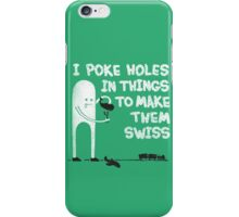 Swiss Happens! iPhone Case/Skin