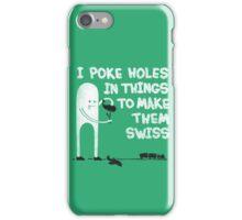 Swiss Happens! iPhone Case/Skin