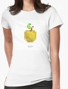 Vector pixel fruit  Womens Fitted T-Shirt