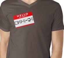 Hello, My Name is Kal-El Mens V-Neck T-Shirt