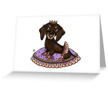 Leia Ballerina Greeting Card
