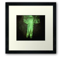 Underwater ghost Framed Print