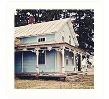 The Abandoned Dollhouse 3 Art Print
