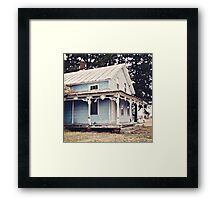The Abandoned Dollhouse 3 Framed Print