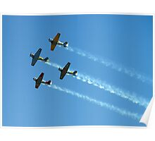 Southern Knights Aerobatic Team Poster