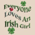 Everyone Loves An Irish Girl by Mike Paget