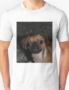 Confused pug Unisex T-Shirt