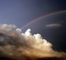 Rainbow sky by Rachel Williams