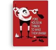 Swiss Happens (the Remake) Canvas Print