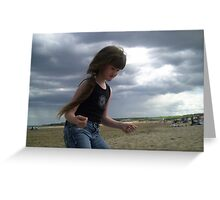 Boogie on the Beach Greeting Card