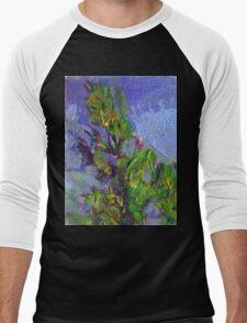 TREES Men's Baseball ¾ T-Shirt