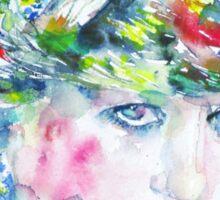 DIANA - Princess of WALES - watercolor portrait Sticker