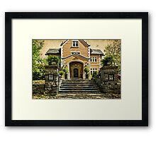 Grand Entrance Framed Print