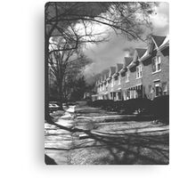 Townhouses - Winchester Canvas Print