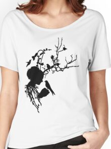 And then I was one with nature... Women's Relaxed Fit T-Shirt
