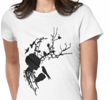 And then I was one with nature... Womens Fitted T-Shirt