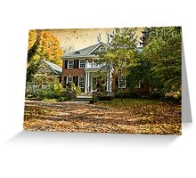Autumn in Rockliffe Village Greeting Card