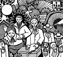 Pessoa  (1888 - 1935) by GomesPereira