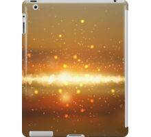 Abstract colorful bokeh background iPad Case/Skin