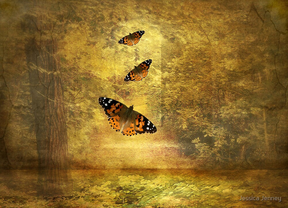 Fly Away Autumn by Jessica Jenney