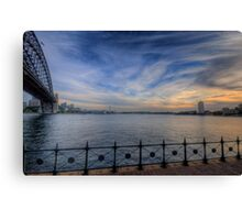 Paint Brush (Uncut) - Moods Of A City - The HDR Experience Canvas Print