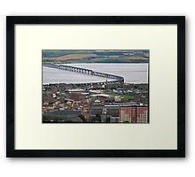 The Tay Rail Bridge Framed Print