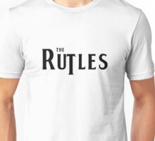 Rutles Logo (Black Writing) Unisex T-Shirt