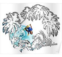 body palmeras Poster