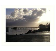 Mumbles Pier & Lifeboat House Art Print