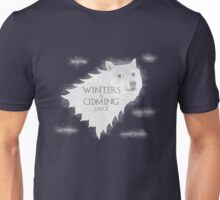Winters a Coming Unisex T-Shirt