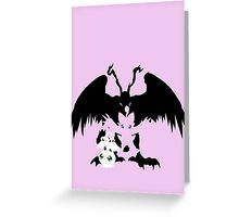 Yoko-Piyo-Birdramon Greeting Card