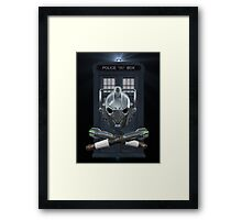 Jolly Timelord Framed Print