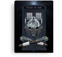 Jolly Timelord Canvas Print