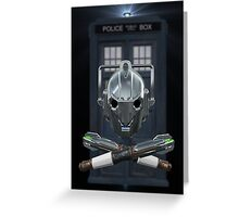 Jolly Timelord Greeting Card