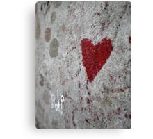 Love / Death Canvas Print