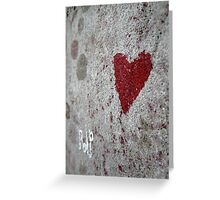 Love / Death Greeting Card