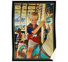 Carousel Cowboy Poster