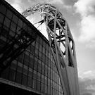Wembley Stadium - Arch (Black & White) by Tom Clancy