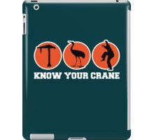 Know Your Crane iPad Case/Skin
