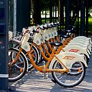 New bicycles for rent in Milan by loiteke