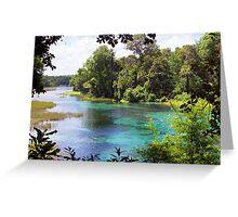 Rainbow Springs Greeting Card