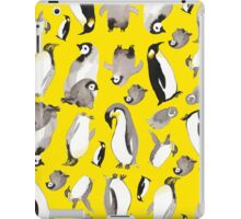 Yellow Penguin Potpourri iPad Case/Skin