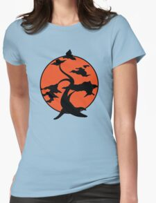 Miyagi Bonsai Tree Womens Fitted T-Shirt