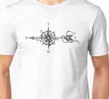 Compass with arrow Unisex T-Shirt