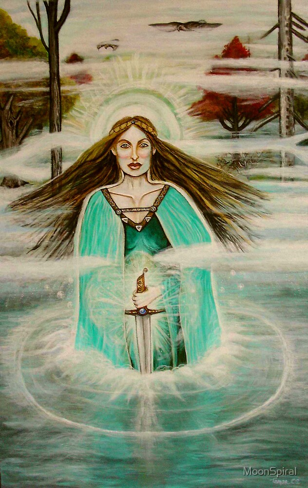 The Lady of the Lake by MoonSpiral