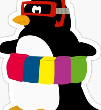 The happy Pinguin Sticker