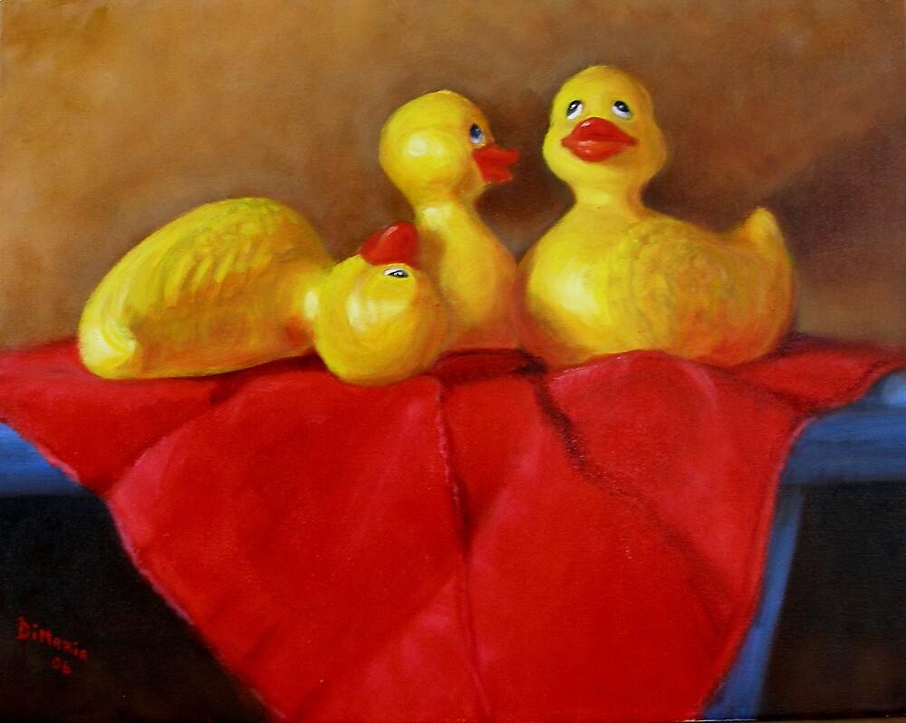 Three Rubber Ducks #3 by Donelli J.  DiMaria